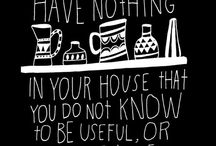 home things / by Sarah McClelland
