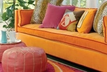 Tangerine Tango - Crossville Style / Pantone named Tangerine Tango the 2012 Color of the Year. Here's how Crossville does the tango... / by Crossville Tile