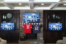 Man Caves / Media Rooms / Super bowl party, NBA championships - the perfect place to party / by Cano Real Estate