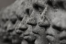 Turn to Stone. / Gargoyles, grotesques, statues and other sculptures, inanimate or otherwise. / by Bryan Superfreak Mangum