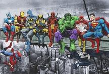 Crossover Geek! / Cross-franchise hero team-ups! (Or occasionally slight disagreements...) / by Bryan Superfreak Mangum