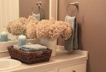 Bathroom Update ideas / by Markie Reeves