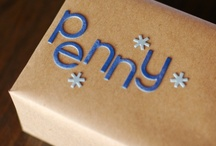 gift wrap ideas / by Molly Kriner-Lacey
