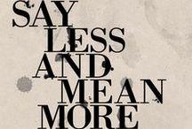words & typography_ / by Kelsey VandenBerg