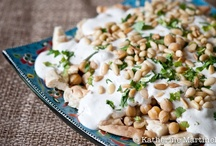 Vegetarian Greek / Middle Eastern inspired recipes / by Becca @ Amuse Your Bouche