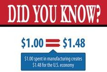 Manufacturing Facts & Images / by The Made in America Movement