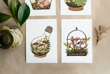 Tuin illustraties // Garden illustrations / De mooiste tuinillustraties // garden illustrations / by Tuinieren.nl