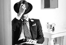 Men's Fashion and Style / For the gentlemen.  / by Megan Demelo