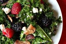 Salads: Real Food Style / Salad recipes using real food ingredients. #salads #realfood #recipes / by Katie Kimball (Kitchen Stewardship)