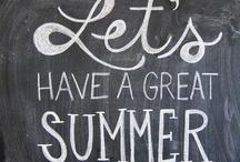 summer;  / tropical, beaches, palm trees / by amanda carmela;
