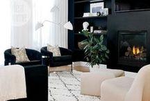 l i v i n g  r o o m s / living rooms / by Jessica {The Aestate}