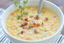 Recipes - Is it Soup Yet?!! / There is nothing better than a warm bowl of soup made with love. / by Kim Brophy