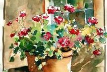 Watercolors / by Kim Brophy