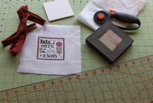 Cross Stitch Finishes & Starts / by Kim Brophy