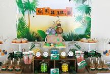 Safari Party Ideas / Safari party ideas including party food, safari party games, favors, safari party decorating ideas and more! / by Moms and Munchkins
