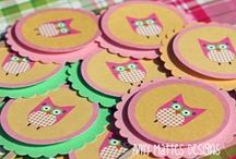 Chocolate Sundae Designs / Girly Invitations and Party Packages.  No Boys Allowed! / by Amy Mattes Designs