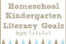 Homeschool Kindergarten / by Lee Ann Stehle
