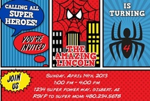 Spiderman Party Ideas / by Petite Party Studio Rebecca & Shannon
