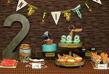 Birthday Parties - Boys / by Janna Weaver, RDN, LD