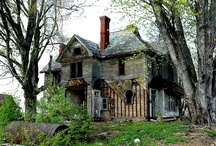 Abandoned, Mysterious, Beautiful / I live pretty close to Detroit, soo it must be a Detroit thing. I love  driving threw and looking at the abandon houses and buildings. / by Kelley Welc