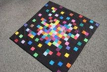 A Quilt with Dark Background / by Kellie Coleman