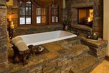 my house: bathrooms (: / by Sierra Simons