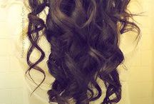 hair: curls ! / by Sierra Simons