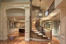 my house: entryway/stairways . / by Sierra Simons
