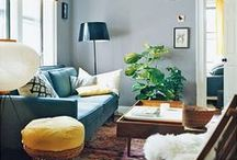 living room ideas / by Carrie Fitzwater