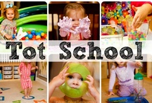 Tot School Ideas / A collection from around the web of Tot School ideas! See more about Tot School here ~ www.totschool.net / by {1plus1plus1} Carisa