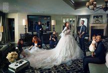 Vestidos de novia de las famosas / Kate Moss, Gisele Bunchen, Kate Middleton. Todas las novias famosas para que te inspires en sus vestidos, tocados y maquillaje!! / by CasarCasar - Portal de Novias
