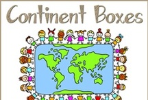 Continent Boxes ~ All / by {1plus1plus1} Carisa