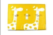 Giraffe Nursery Decor Ideas / Great finds for a gender neutral nursery.  / by Modern Switch