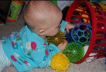 Tot School Ideas 9-12 Months / A collection of Tiny Tot School ideas for babies ages 9-12 months.  See more about Tot School here ~ http://www.1plus1plus1equals1.com/TotSchool.html / by {1plus1plus1} Carisa