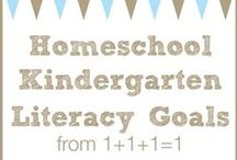 Kindergarten at Home / by {1plus1plus1} Carisa