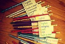 Ryan's Classroom & School Stuff / A, B, C...easy as 1,2,3 / by Jennifer Graber