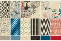 Awesome Authentique / Paper sets, embellies, creations  / by Debbie Reid