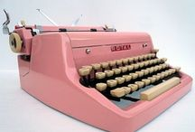 Vintage Typewriter Envy / by Pam @ House of Hawthornes