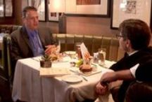 """GMA's """"Burgers and Books: Conversations with George"""" / by Good Morning America"""