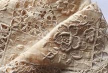 Linen and Lace / I just love the feel and look of natural LINEN ... so beautiful to wear .. I love LACE ... so intricate .... / by Wendy Marguerite