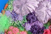 Fiber, Felt, Silk, Beading, Ribbon, & Embroidery Art to Melt My Heart / by Mizz Debby