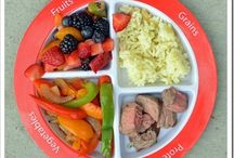 Healthy portioned meals (since I have my portion plate to use) / by Maha Rathore
