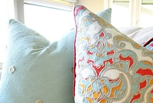 Decorative Pillows! / For more decorating ideas stop by: http://www.decorating-ideas-made-easy.com / by Decorating Ideas Made Easy