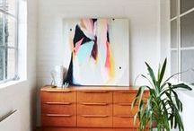 Art in Your Home / Ways to display and hang art in your home. / by Tara Leaver | Artist & Creative Guide