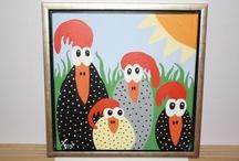 My paintings & drawings / Paintings I paint / by Jane Jørgensen