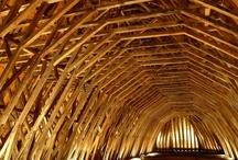 wooden design/architecture / by Juliette Bes de Berc
