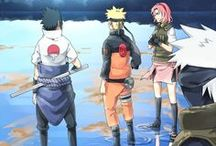 Naruto / gotta love the leaf village / by Emma Rain