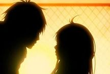 AnimeCouples / romantic couples from some of my favorite mangas and animes, some beautiful ships too <3 / by Emma Rain