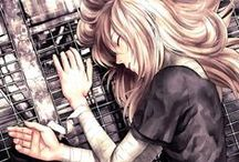 Anime Art: Girls / Just some amazing art / by Emma Rain