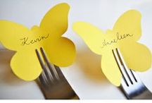 Amazing Table Placecard Ideas / Looking for fresh takes on table place cards or table number cards? / by Lenox